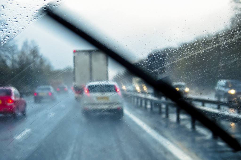 how to drive in heavy rain